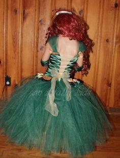 Brave Inspired Merida Cosutme Dress up Costume by sewtotallykids