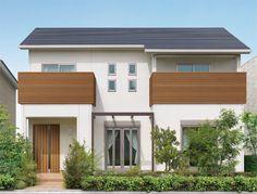 House Dream Modern Balconies 22 New Ideas Minimal House Design, Minimal Home, Small House Design, Dream Home Design, Zen House, Loft House, Sims House, Building Design, Building A House