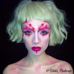 Colour makeup beauty #nikki_makeup