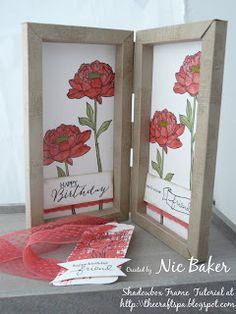 The Craft Spa - Stampin' Up! UK independent demonstrator : You've Got This! Double Box Frame Card for Fancy Fold Friday