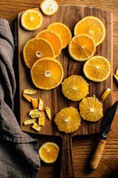 Cous cous de coliflor con naranjas y aliño de aceitunas