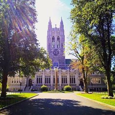 From our friends at Boston College  @bostoncollege - Happy first day of classes|| Photo by @lorenzabc  #BC360 #goviewyou