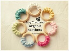 Crochet Organic Teething Ring PATTERN PDF Instant Download on Etsy, $3.50 AUD