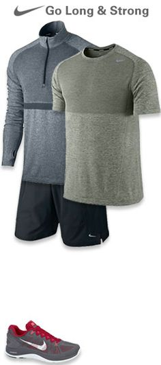 Road Runner Sports | Mens Activewear Workout Attire, Workout Outfits, Workout Gear, Sport Fashion, Fitness Fashion, Mens Fitness, Fitness Style, Site Nike, Sharp Dressed Man