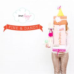 Layout: New Fine and Dandy from Dear Lizzy
