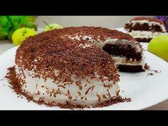Tort în 5 minute! Veți face acest tort în fiecare zi. FĂRĂ cuptor! #189 - YouTube Cake Recipes, Dessert Recipes, Toffee, Just Cakes, Pie Cake, Portion Control, Pie Dessert, Kakao, No Bake Desserts