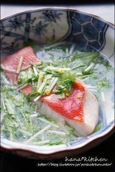 金目鯛の酒蒸し、葛あんかけのレシピ。 by はなこさん   レシピブログ ...