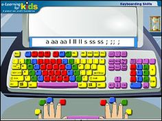 Five free keyboarding sites for kids.