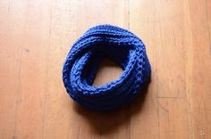 Gifts For Kids Blue Infinity Scarf by RailroadAndHolly - $30