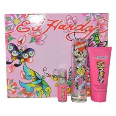 Ed Hardy Gift Set EDP Spray Shimmering Body Lotion and EDP Spray for Women ** Check out this great product.