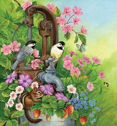 птички для декупажа - Самое интересное в блогах