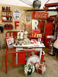 Red Booth at Ruby Grace's