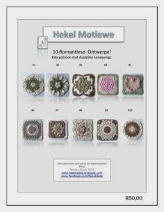 Afrikaanse hekel patrone!!! www.hekelidess.blogspot.com / https://www.facebook.com/Hekelidees