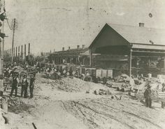 Central Railway Station - construction, c.1902 by State Records NSW, via Flickr