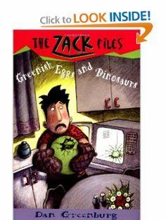 Zack Files 23: Greenish Eggs and Dinosaurs by Dan Greenburg. $4.99. Author: Dan Greenburg. Publisher: Grosset & Dunlap (October 15, 2001). Series - Zack Files (Book 23)