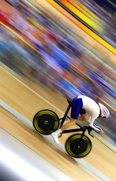 ♀ Blur speed movement British olympic track cycling at beijing 2008