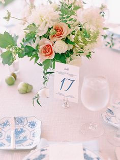Photography : Katie Stoops Photography | Event Design : Strawberry Milk Events | Floral Design : Sweet Root Village | Wedding Venue : The Inn At Perry Cabin Read More on SMP: http://www.stylemepretty.com/little-black-book-blog/2016/04/22/this-sapphire-ring-kicked-off-one-beautiful-blue-party/