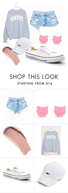 """""""Style"""" by skylarjenkins ❤ liked on Polyvore featuring Burberry and Converse"""