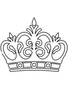 8 Mejores Imágenes De Corona Dibujo Crowns Birthdays Y Do Crafts