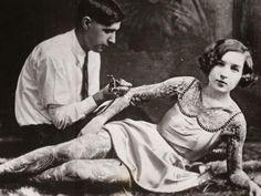 La historia del tatuaje en increíbles fotos   Swagger