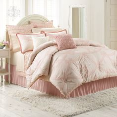 LC Lauren Conrad Isabel Duvet Cover Collection | Just My Style ... : lc lauren conrad allie ruffle quilt - Adamdwight.com