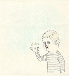 """Hello, Mother."" Check out more work by Marie Gardeski on ZIIBRA at https://www.ziibra.com/marie-gardeski/"