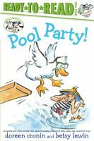 On a hot summer day, Farmer Brown and the animals enjoy getting cool in the pool. Main Library, Local Library, County Library, Library Website, Beginner Books, New Children's Books, Reading Levels, New Kids, Summer Days