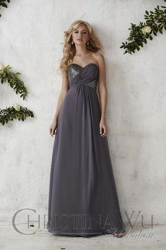 sequin-top bridesmai