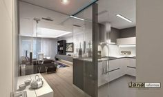 Ideas para zonas de cocina abiertas al salón