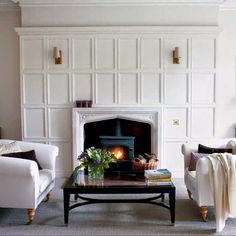 What comes to your mind when it is all about a fireplace? Well, a fireplace works as the heart of . Read Comfortable Fireplace Decor Ideas For White Walls Fireplace Update, Cozy Fireplace, Fireplace Surrounds, Fireplace Design, Fireplace Mantels, Fireplace Molding, Fireplace Ideas, Fireplace Makeovers, Fireplace Modern