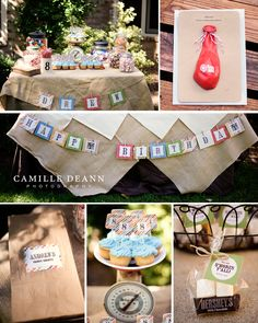 kid's outdoor birthday party