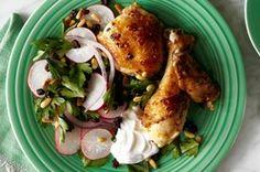 Ignacio Mattos's Fennel, Chili and Yogurt Roast Chicken with Parsley Salad | Slow Food Fast - WSJ