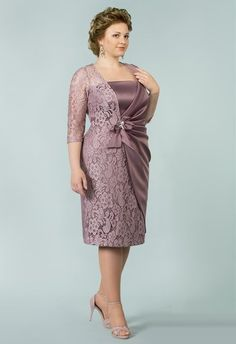 Plus Size Womens Cocktail Dresses Cheap Refferal: Pin was discovered by Yan Mother Of Groom Dresses, Mothers Dresses, Mom Dress, Lace Dress, Elegant Dresses, Beautiful Dresses, Formal Dresses, Vestidos Plus Size, African Fashion Dresses