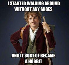 it became a Hobbit...
