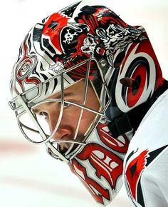 NHL Goalie Masks By Team | NHL Goalie Masks by Team (2009-10) - Cam Ward | Sports Illustrated ...