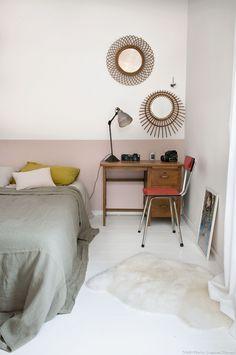 La chambre d'ami de la maison de pêcheurs à Nantes