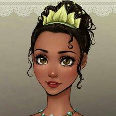 If Disney Princesses were Anime Characters. My fav is Mulan and Jasmine. (by kinda like the potato too\. Tiana, Rapunzel, Pocahontas, Jasmine, Anime Characters, Elsa, Snow White, Pictures, Disney Princesses