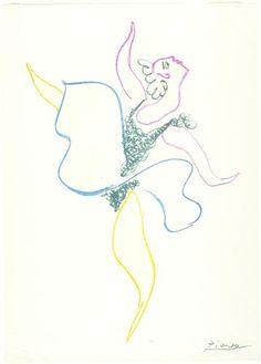 Dancer - Pablo Picasso
