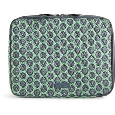 Vera Bradley Laptop Sleeve in Nomadic Blossoms ($38) ❤ liked on Polyvore…