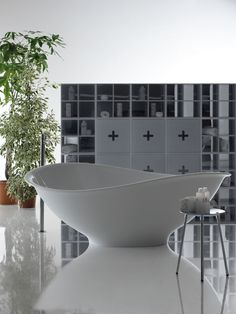 Freestanding Pietraluce® #bathtub MEG11 by GALASSIA | #design Antonio Pascale #bathroom