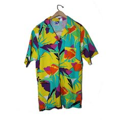 """Here is one of the original Pipeline Clothes & Gear, """"Aloha"""" shirts from the 80s"""