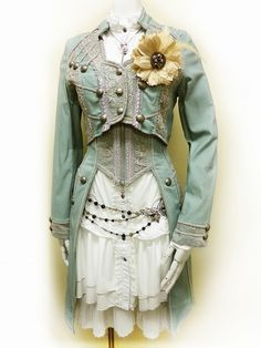 Ozz Angelo 2013 S/S - OzzOnJapan | Crystaline : Steampunk Fashion Archives