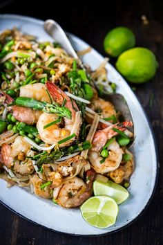 Spring Vegetable Pad Thai