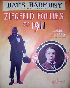 Vintage Ziegfeld sheet music cover