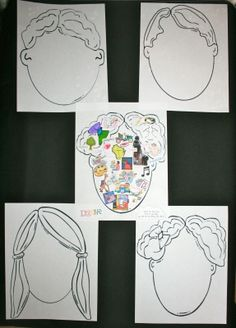 What's On Your Mind Craftivity. Could make and then use later as writing prompt or to work on oral presentation skills. Could require some linguistic and non linguistic representations.