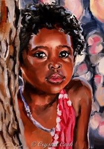 Refuse to be Hidden by artist   Crystal Cook. #oilpainting found on the FASO Daily Art Show -- http://dailyartshow.faso.com