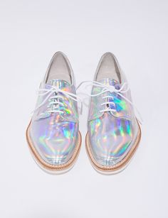 Hologram brogues @ Pixie Market $188