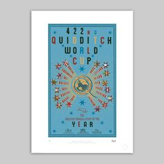 The Printorium - Quidditch World Cup Poster