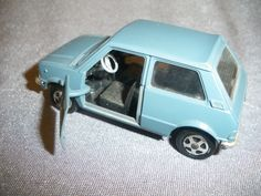584B Mebetoys Mattel Italy A-86 Mini Innocenti BLMC Bleu 1/43 in Jouets et jeux, Véhicules miniatures, Autres | eBay