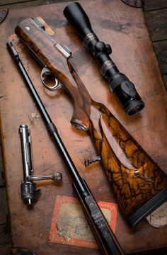 Westley Richards, Mauser 98, take down, bolt action